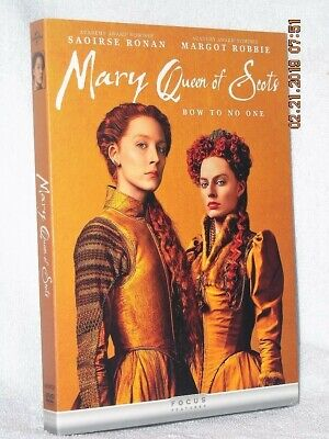 $24.99 • Buy Mary Queen Of Scots (DVD, 2019) NE Drama Saoirse Ronan Margot Robbie Jack Lowden