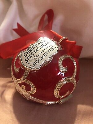 f1e27a171 BLACK FRIDAY 2017 PANDORA Red CHRISTMAS Holiday ROCKETTES ORNAMENT. Pre  Owned. • 40.00$