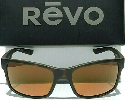 3671a9eb65 REVO CRAWLER Tortoise Matte POLARIZED Amber Open Road Sunglass 1027 02 OR •  60.00