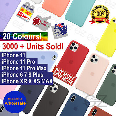AU6.85 • Buy Ultra Slim Silicone Case For IPhone 11 Pro XS MAX XR 7 8 6 Plus Shockproof Cover