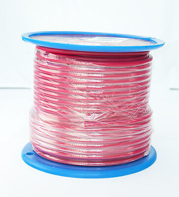 AU34 • Buy SINGLE CORE 5mm 30M RED WIRE CABLE 37 AMP CARAVAN TRAILER 4X4 AUTOMOTIVE 12V