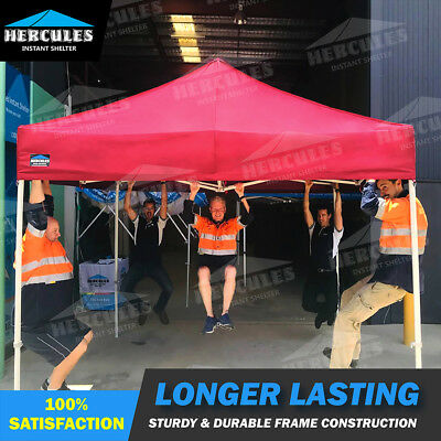 AU799 • Buy Heavy Duty And Light Weight Aluminum Marquee/Gazebo 3X3M 3Mx3M With Sides