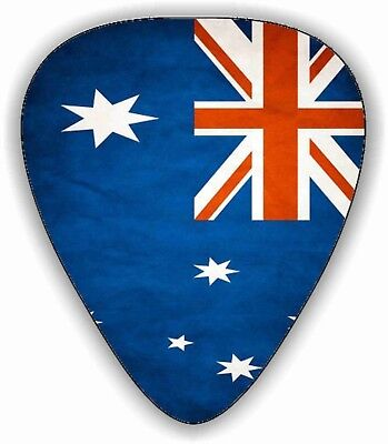 AU5.99 • Buy 10 Australian ~ OZ~ Flag ~ Guitar Picks ~ Printed Both Sides