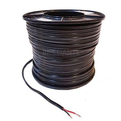 AU125 • Buy TWIN CORE 4mm 100M WIRE CABLE 22A SAA CARAVAN TRAILER AUTOMOTIVE 12V SHEATH