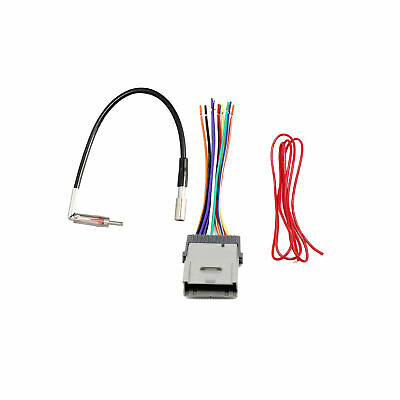 $11.99 • Buy Car Aftermarket Radio Antenna Adapter Stereo Wire Harness For Buick GMC Chevy