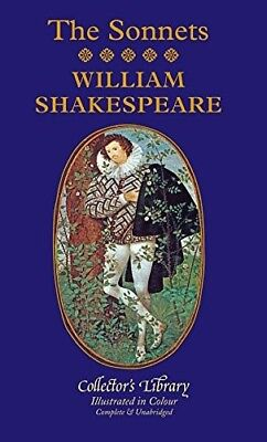 The Sonnets (Collectors Library In Colour), Shakespeare, William, New Book • 9.69£