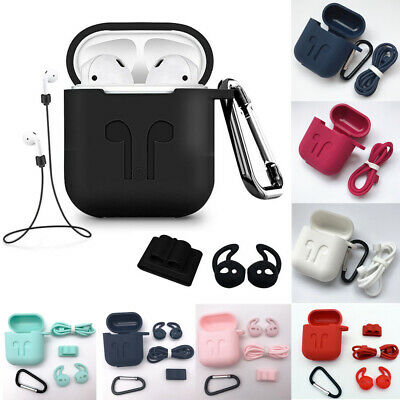 AU4.61 • Buy For Apple AirPods Silicone Case Cover Accessories AirPod Earphones Charging Skin