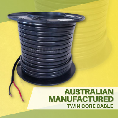 AU46 • Buy TWIN CORE 6mm 10M WIRE CABLE TRAILER AUTO 4X4 12V 2 SHEATH WITH 2 ANDERSON PLUGS