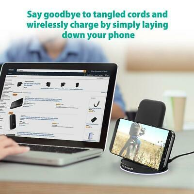 AU105 • Buy Australia RAVPower Quick Charge 2 Coils QI Wireless Charging Pad Fast Wireless C