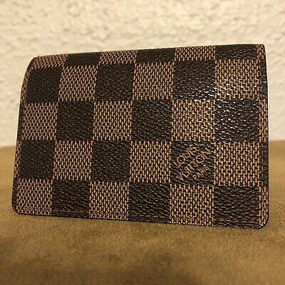 bf3dc44029d5 💐Authentic Retired Louis Vuitton Damier Ebene Business Card Holder •  280.00