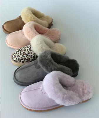 AU45 • Buy UGG Scuffs/Slippers 100%Australian Twinface Sheepskins Grip Sole Premium 5 Color