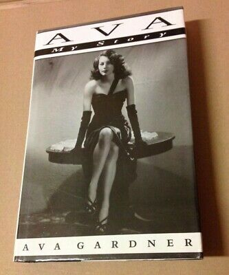 Ava My Story By Ava Gardner 1st Edition HB 1990 VERY GOOD • 8.50£