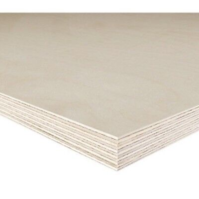 £17.95 • Buy Birch Plywood Sheets Woodworking Craft Pyrography 12mm Thick Set Of 5