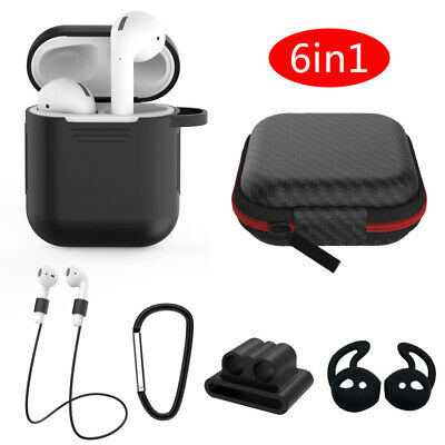 $ CDN5.20 • Buy For Apple AirPods Protective Silicone Case Cover AirPod Holder Bag Accessories