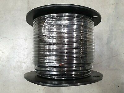 AU249 • Buy TWIN CORE 6mm 100M WIRE CABLE 50A CARAVAN TRAILER AUTOMOTIVE 12V 2 SHEATH
