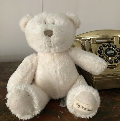 £5 • Buy Mamas And Papas My First Bear Soft Toy