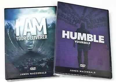$ CDN30 • Buy James MacDonald - Lot Of 2 DVDs - Humble Yourself And I Am Your Deliverer - New