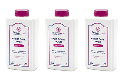 AU86.50 • Buy Forever New 32oz Granular Fabric Care Wash 3 Pack 96oz Total
