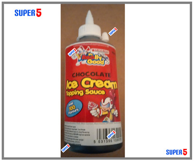 Chocolate Ice Cream Topping Sauce 660g MR REALLY GOOD - Dessert, Syrup Sauce • 6.79£