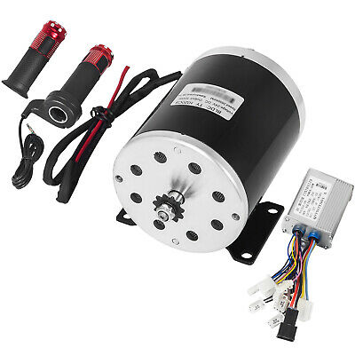 24V 500W DC Electric Motor Amp Control Throttle Kit Reduction Go Kart Scooter • 69.98£