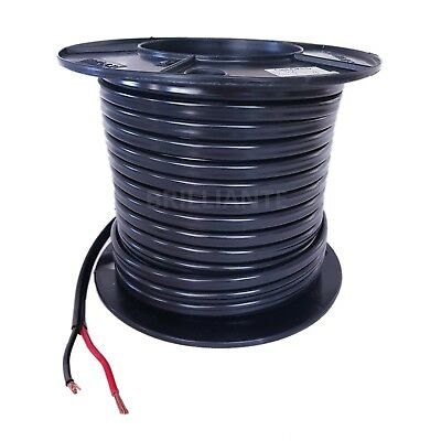 AU32.90 • Buy TWIN CORE 6mm 5M WIRE CABLE CARAVAN TRAILER WITH 2 ANDERSON PLUGS SHEATH