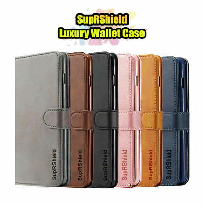 AU9.99 • Buy For Huawei Y5 Y7 Pro 2019 Wallet Case Flip Magnetic Leather Slots Stand Cover