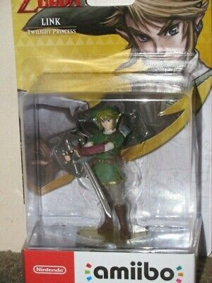 AU89.95 • Buy TWILIGHT PRINCESS AMIIBO ZELDA LINK - BNIB Melb