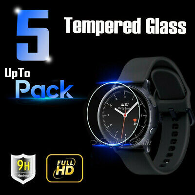 AU7.99 • Buy 2x 3x 5x Samsung Galaxy Watch Active |Active 2 Tempered Glass Screen Protector