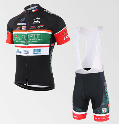 AU36.98 • Buy 7-Eleven Cycling Jersey Short Sleeve Bike Clothing Quick Dry MTB
