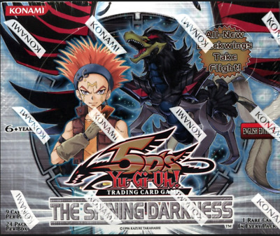 Yu Gi Oh! The Shining Darkness TSHD-EN Cards - Singles - Monster Trap Spell Rare • 1.50£