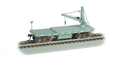 $41.99 • Buy U.s. Military Railroad Old-time Mow Derrick Car By Bachmann Trains  Ho-scale
