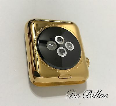 $ CDN794.90 • Buy 24 Karat Gold Plated 42MM Apple Watch Series 2 Stainless Steel Custom Body Only