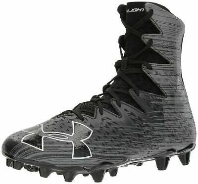 4b96c46b42a0 Under Armour Highlight MC Lacrosse Cleats Black 1297358-001 Mens Size 9.5 •  59.95$