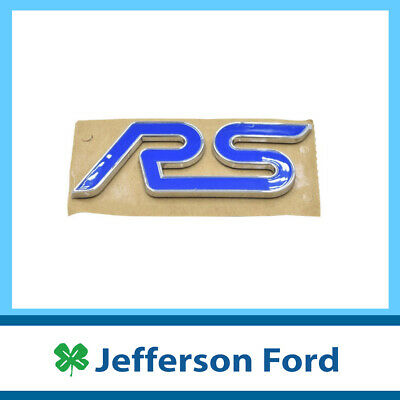 AU41.95 • Buy Genuine Ford Rs Badge For Focus St Rs Lz Xr5