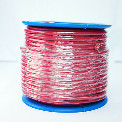 AU48.50 • Buy SINGLE CORE 6mm 30M RED WIRE CABLE 48 AMP CARAVAN TRAILER 4X4 AUTOMOTIVE 12V