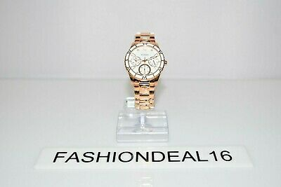 $ CDN182.70 • Buy New Guess Authentic Women's Valencia Rose Gold SS White W1158L2 38mm Watch