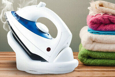 View Details Cordless Steam Iron Water Spray Adjustable Temperature Water Tank Non Stick Dry* • 12.99£