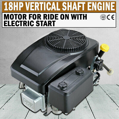 AU570 • Buy NEW 18HP Vertical Shaft Petrol Engine Ride On Mower Motor Electric Start Loncin