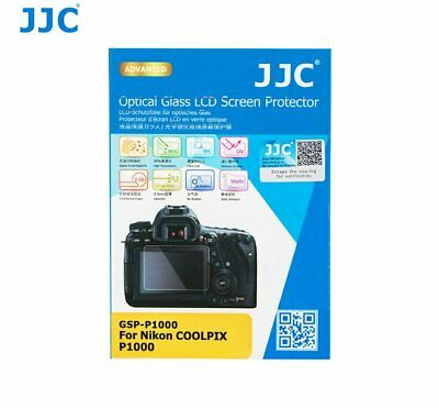 AU9.24 • Buy JJC GSP-P1000 Ultra-thin Glass LCD Screen Protector For Nikon COOLPIX P1000