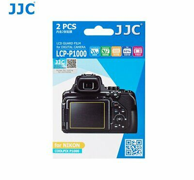 AU6.04 • Buy JJC LCP-P1000 LCD Guard Film Camera Screen Protector For NIKON COOLPIX P1000
