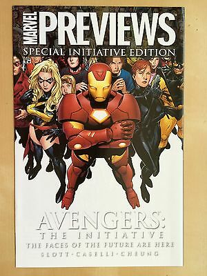 Marvel Previews Special Initiative Edition AVENGERS Faces Of Future Comic Book  • 2.19£