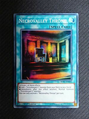 Necrovalley Throne - SOFU - Super Rare - Yugioh Card # 1E43 • 1.29£