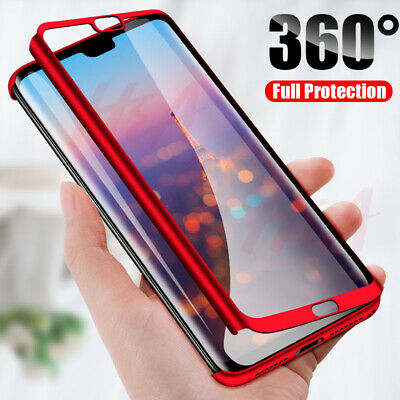 Case For Huawei P20PRO / Lite Mate20Pro Full Body Protective Hybrid 360 Cover • 3.79£