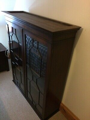 £95 • Buy Glass Fronted Bookcase / Cabinet Top