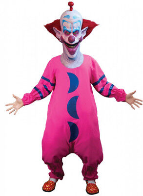 $75.82 • Buy Slim Killer Klown Costume Pink Jumpsuit From Outer Space Clown Movie Scary