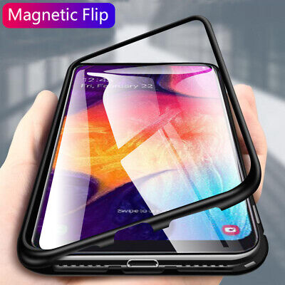 $5.21 • Buy For Xiaomi Redmi Note 7 5 6 Pro Magnetic Metal Tempered Glass Slim Case Cover