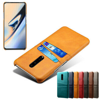 AU6.18 • Buy For OnePlus 8 7T 7 Pro 6T 6 5T 5 Case Luxury Leather Back Card Slot Wallet Cover
