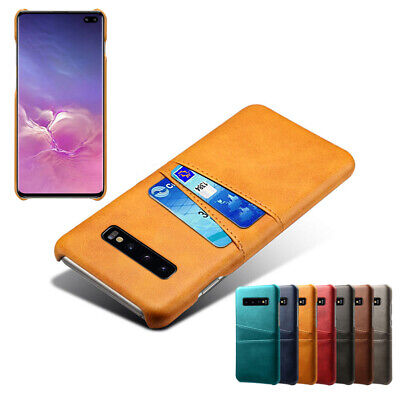 $ CDN5.73 • Buy For Samsung Galaxy S10 S9 S8 Plus S7 S6 Case Leather Back Card Slot Wallet Cover