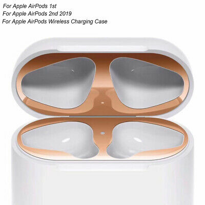 $ CDN4.21 • Buy Metal Dust Guard Protective Case Shell Skin Dustproof Stickers For Apple AirPods