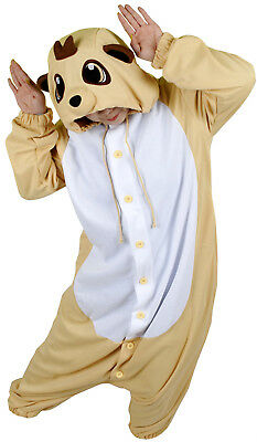 Meerkat Animal Kigurumi Pajama Adult Sleepwear Costume Unisex Cosplay Sweetholic • 65.02£